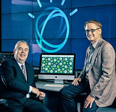 On February 1, 2017, H&R Block CEO Bill Cobb (left) and IBM SVP David Kenny (right) announced that H&R Block's tax professionals at approximately 10,000 branch offices across the U.S. will use a new, consumer-facing technology that incorporates IBM Watson - the largest deployment of Watson in retail locations. The new technology will help H&R Block tax professionals deliver the best outcome for each client's unique tax situation. (Photo by Guerin Blask)