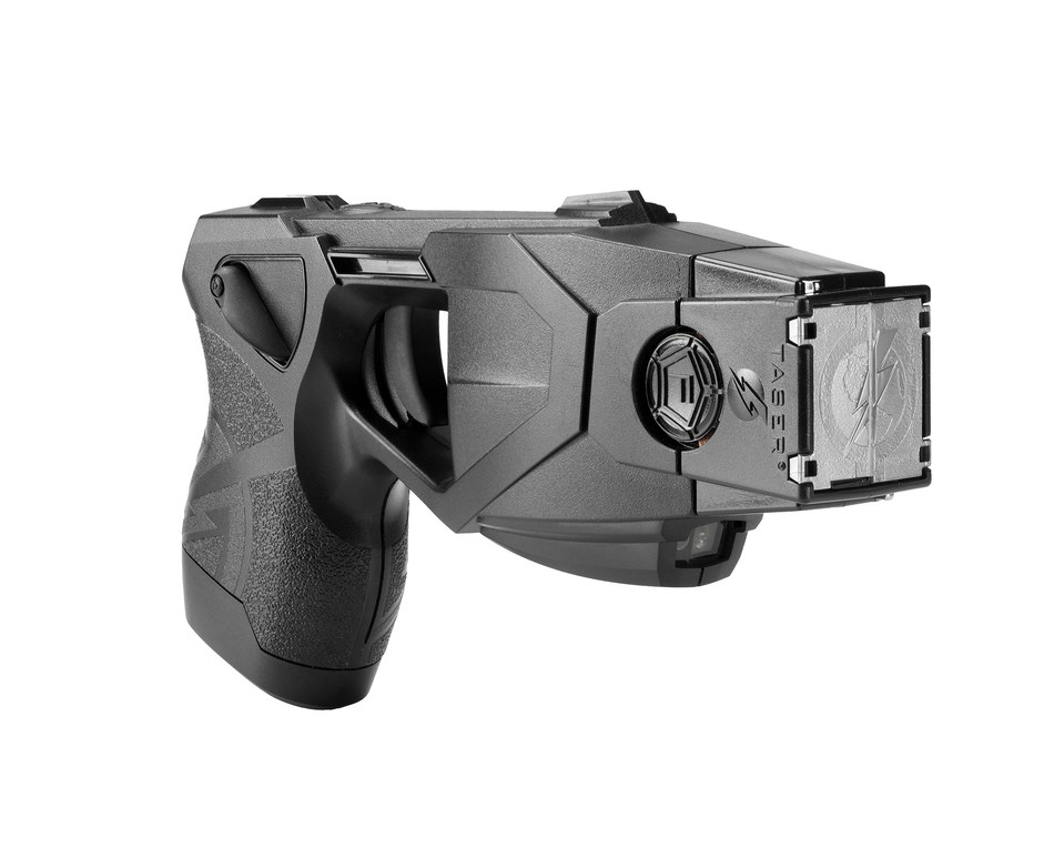 The TASER(R) X26P(TM) Smart Weapon. The use of TASER Conducted Electrical Weapons (CEWs) and Smart Weapons have saved more than 178,000 lives from potential death or serious injury.  Photo courtesy of TASER International, Scottsdale, AZ.