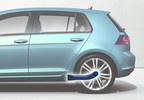 Vari-Form In Synch with Volkswagen MQB Platforms, Provides Rear Suspension Trailing Arms for Golf A7 and Variants