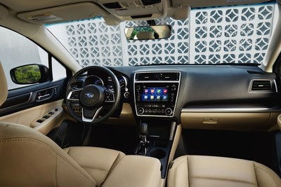 SUBARU DEBUTS 2018 LEGACY AT THE CHICAGO AUTO SHOW WITH MORE ELEGANT STYLING, UPGRADED INTERIOR, NEW SAFETY FEATURES AND ADVANCED MULTIMEDIA