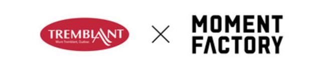 Logo : TREMBLANT S'ASSOCIE À MOMENT FACTORY. (Groupe CNW/Association de villégiature Tremblant)