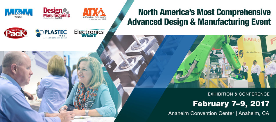 Content is King at UBM's Advanced Manufacturing Event in Anaheim, CA