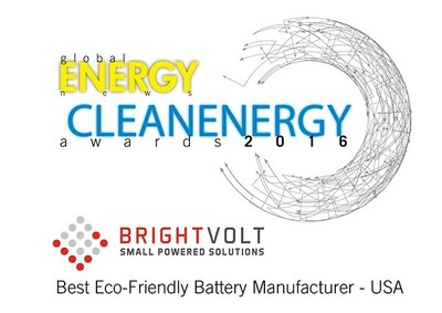 BrightVolt Wins Best Eco-Friendly Battery Manufacturer Award