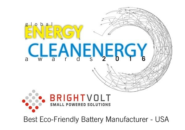 Clean Energy Award goes to BrightVolt.