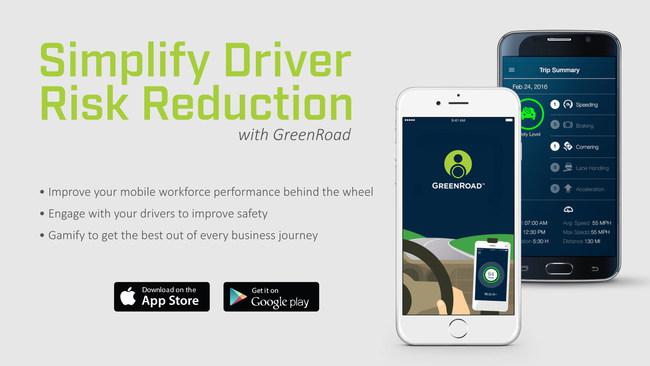 GreenRoad Mobile (PRNewsFoto/GreenRoad Technologies)