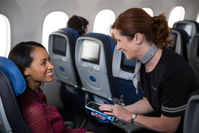 Photo Credit: United Airlines Creative Services  Caption: IBM MobileFirst for iOS apps will help digitally transform how United  employees engage with their customers