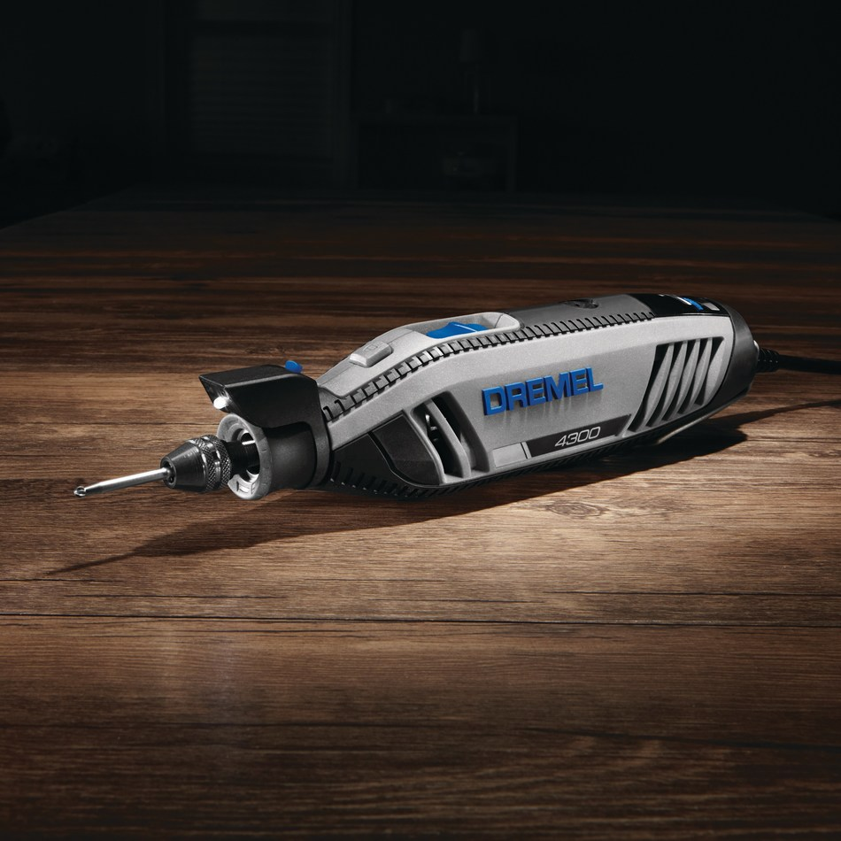 The Dremel 4300 is the brand's most versatile rotary tool, with the ability to tackle an impressive variety of applications and with a wide breadth of accessories.