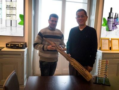 Oud Essentials' CEO and COO (PRNewsFoto/Oud Essentials)