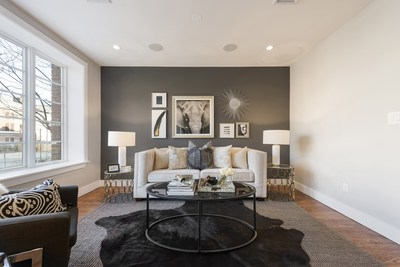Ryan Serhant Continues Major Expansion Into Brooklyn Real Estate Market with the Gates Condos, The Largest, Most Luxurious New Apartments in Bed-Stuy. (Model unit living room pictured). For more, visit www.gatescondos.com. @ryanserhant