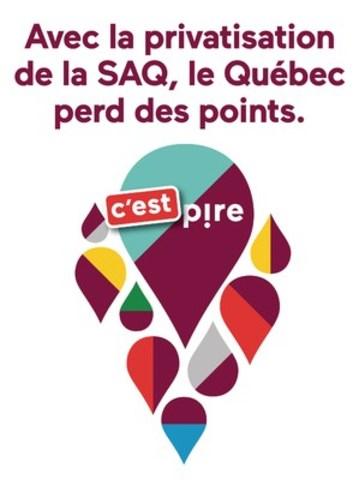 Le SCFP s'inquiète de la privatisation de la SAQ (Groupe CNW/Syndicat canadien de la fonction publique (FTQ))