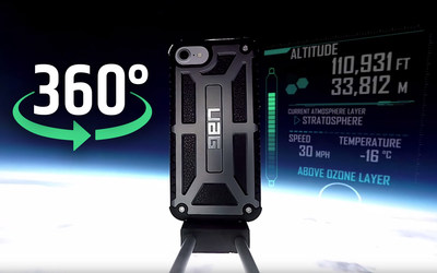 Watch this iPhone 7 Get Sent into Space, Filmed in 360-Degree 4K Video