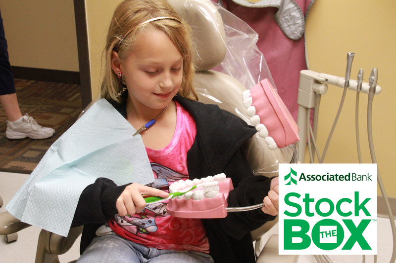 Fans attending the Feb. 8 Minnesota Wild-Chicago game are invited to donate dental supplies as part of Associated Bank's Stock the Box(TM) for Healthy Smiles campaign to benefit  Union Gospel Mission Twin Cities. Items will continue to be collected in Minnesota and Western Wisconsin branches through Feb. 24.