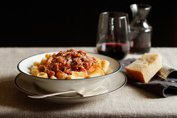 Slow-Cooker Lamb Ragu with Rigatoni (Photo Courtesy of American Lamb Board)