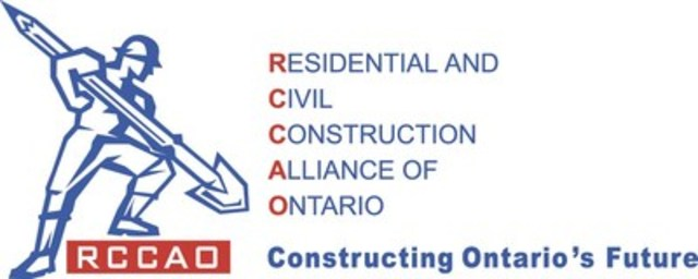 Residential and Civil Construction Alliance of Ontario (CNW Group/Residential and Civil Construction Alliance of Ontario)