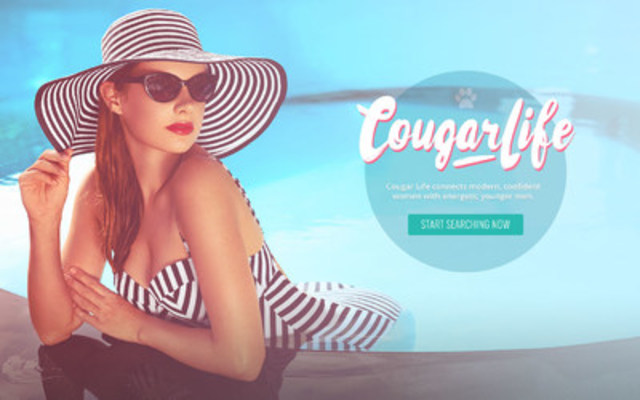 ruby, the world's most open-minded relationship company, unveiled a rebrand for CougarLife.com today. CougarLife.com is the leading online dating site, where experienced women meet younger men. (CNW Group/ruby Life Inc.)