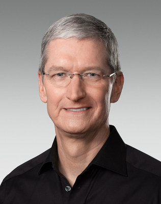 Tim Cook Named Recipient of the Free Expression Award
