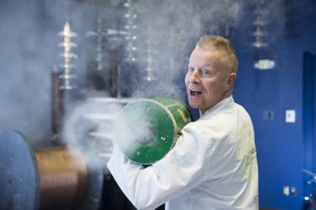La relâche à l'Électrium : une sortie familiale amusante et gratuite pour s'initier aux sciences (Groupe CNW/Hydro-Québec)