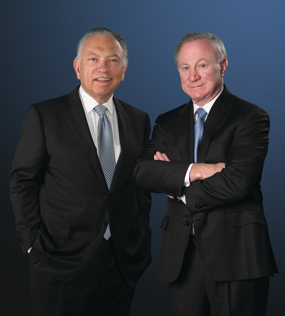 Left to right:  David D. Mandarich, President & COO, M.D.C. Holdings, Inc. with Larry A. Mizel, Chairman and CEO, M.D.C. Holdings, Inc.