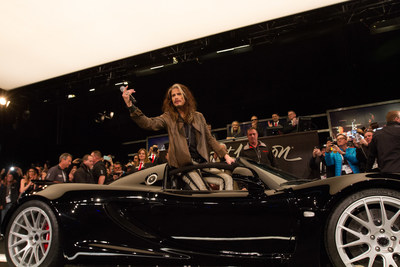 Going, going, gone! Steven Tyler's Janie's Fund Wins big at Barrett-Jackson auction with sale of rare sports car