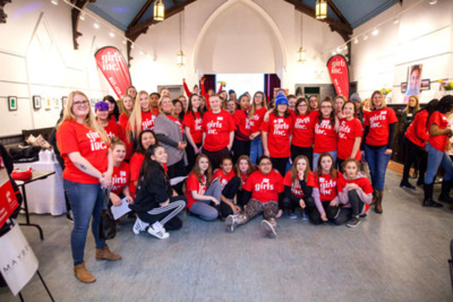 Maybelline celebrated partnership with Girls Inc at launch event (CNW Group/Maybelline New York)