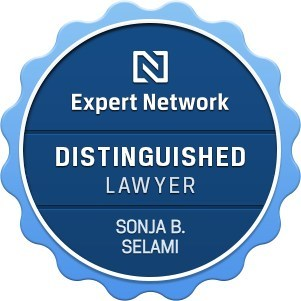 Sonja B. Selami, P. C. has been recognized as a Distinguished Lawyer by the Expert Network.