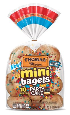Thomas' Limited Edition Party Cake Mini Bagels