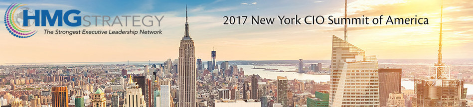 Register Today for the 2017 NY CIO Summit of America! Visit http://www.hmgstrategy.com/events/upcoming-summits