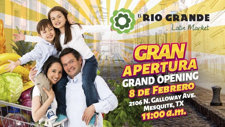 (PRNewsFoto/El Rio Grande Latin Market)