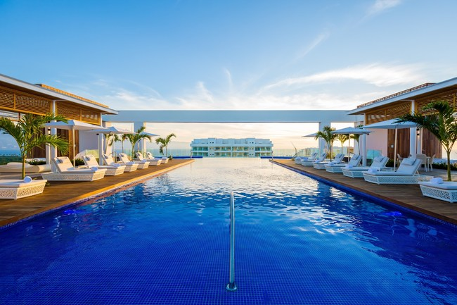 Infinity pools offer the ultimate relaxing experience with expansive views of the natural vistas of Mexico
