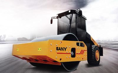 SANY intros 20-ton, 22-ton hydraulic single-drum rollers.