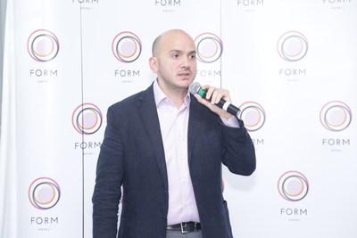 Tarek M. Daouk, Founder and Managing Partner of Smartotels Hospitality International LLC announces the launch of FORM Hotel Dubai. (PRNewsFoto/Smartotels)