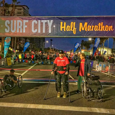 Over 15,000 participants attended the 21st annual Surf City USA Marathon & Half Marathon and Active Lifestyle Expo in Huntington Beach, California, on Sunday. Runners from over 17 countries, all 50 USA states and over 1,000 cities participated in California's largest combined oceanfront marathon and half marathon, which takes place along a portion of the iconic Pacific Coast Highway.