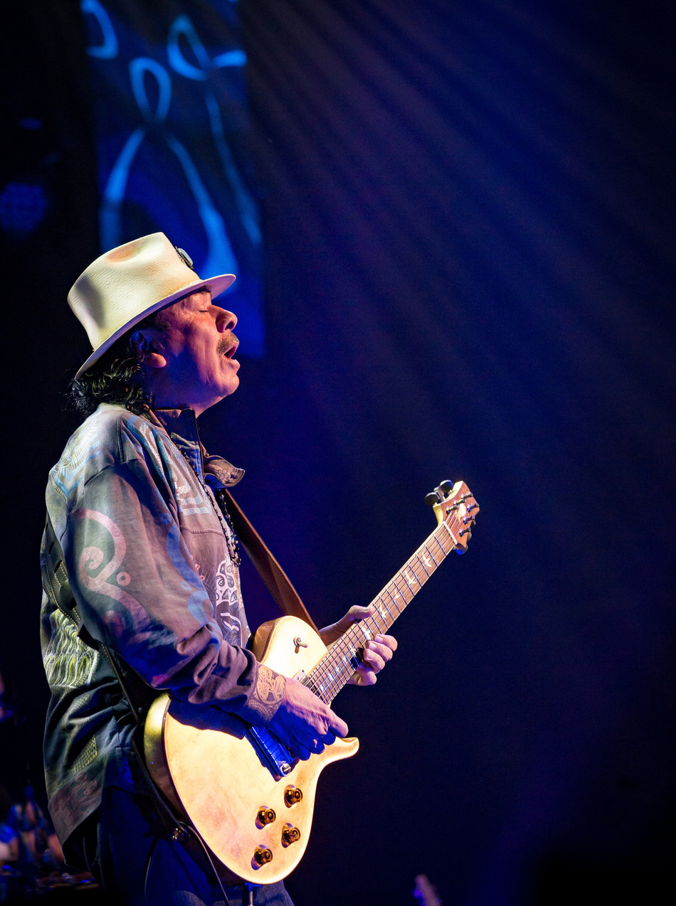 Carlos Santana, photo by Erik Kabik