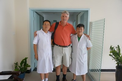 Dr Song and Dr song's clinic in China Dr. Song's 3d prostate and prostatitis treatment China
