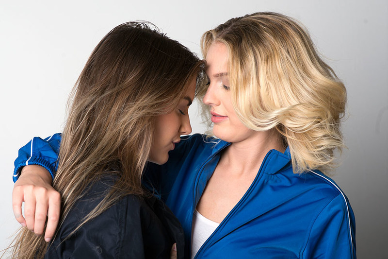 Brianna Joy Chomer and Jessica Lauren star in NUNE, an LGBTQ short film by Ji Strangeway