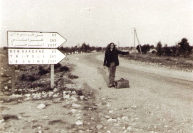 Gregg Cockrell in Tunisia in 1972