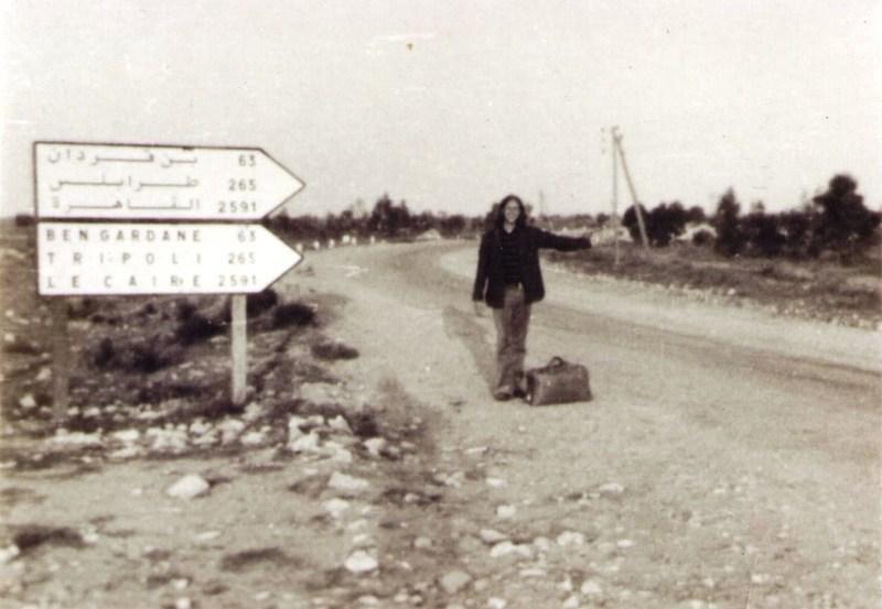 Gregg Cockrell in Tunisia in 1972