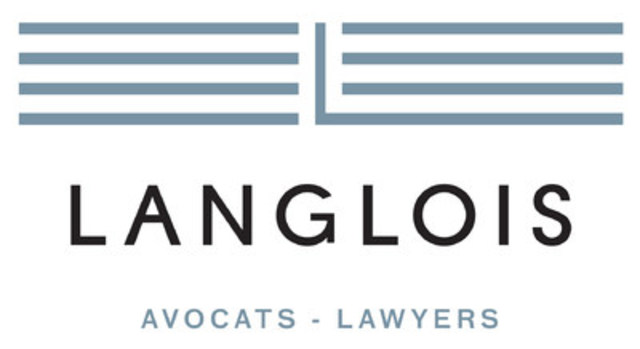 Logo : Langlois avocats (Groupe CNW/Langlois avocats)