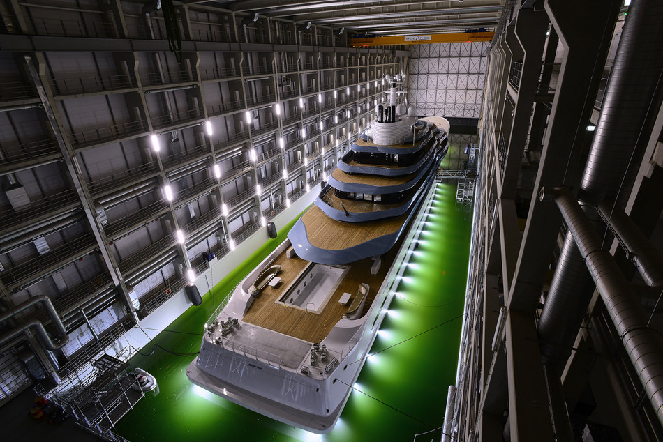 'Launch Oceanco's Y714' - Photo 2 (PRNewsFoto/Oceanco)