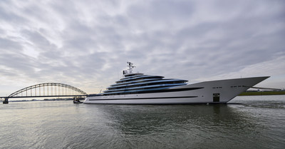 'Launch Oceanco's Y714' - Photo 1 (PRNewsFoto/Oceanco)