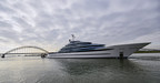 Oceanco Launches the Largest Yacht Ever Built in The Netherlands - 110m/361ft Project JUBILEE