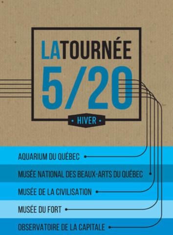 Visuel de la Tournée 5/20 (Groupe CNW/Commission de la capitale nationale du Québec (CCNQ))