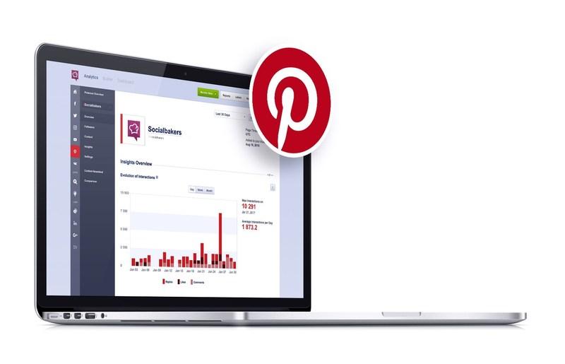 Socialbakers joins Pinterest Marketing Developer (PRNewsFoto/Socialbakers)