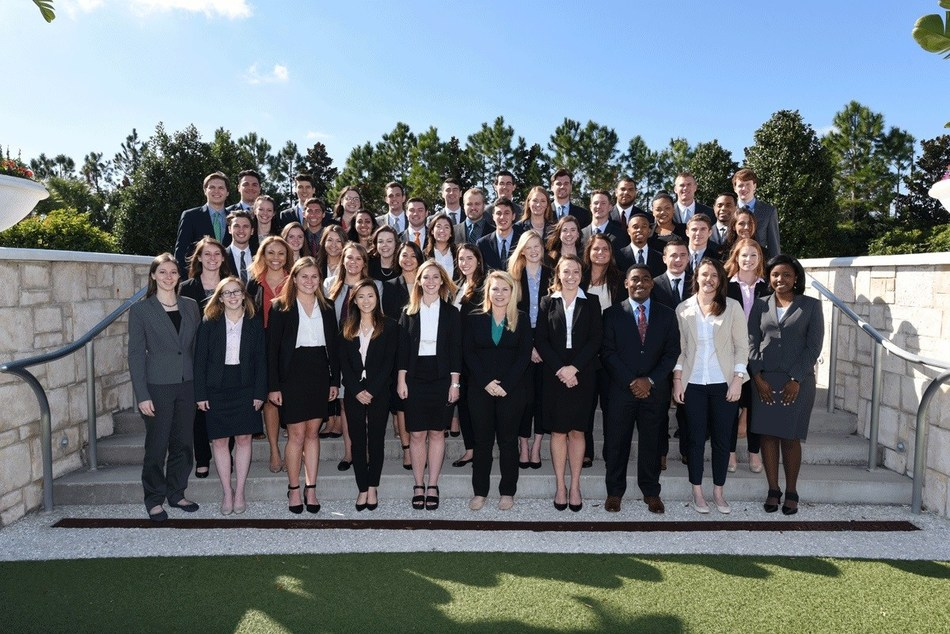 Members of the KPMG Master of Accounting with Data and Analytics inaugural class recently attended a KPMG-sponsored leadership conference in Orlando.
