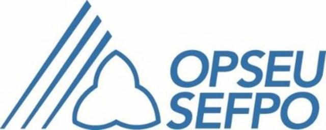 OPSEU SEFPO (CNW Group/Ontario Public Service Employees Union (OPSEU))