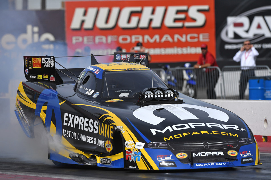 Matt Hagan took part in last week's test session at Wild Horse Pass Motorsports Park near Phoenix. He'll try to provide the Mopar and Dodge brands with a fifth NHRA Funny Car title in seven years during the 2017 season.