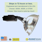 Access Fixtures High Output LED Sport Light Ships Within 72 Hours