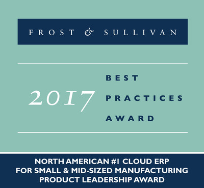 Frost & Sullivan recognizes Kenandy, Inc. with the 2017 North American Product Leadership Award.