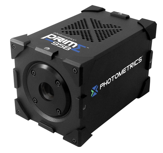 Photometrics Prime 95B Scientific CMOS Camera with 95% QE and Computational Intelligence