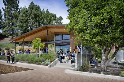 Entry, Center for Environmental Studies, Bishop O'Dowd High School. Photo: David Wakely